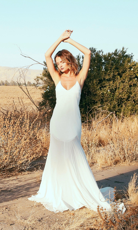Slip Wedding Dress | Pinterest