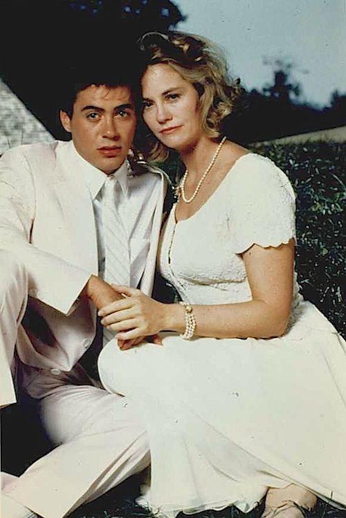 Robert Downey Jr And Cybill Shepherd Publicity Shot For Chances