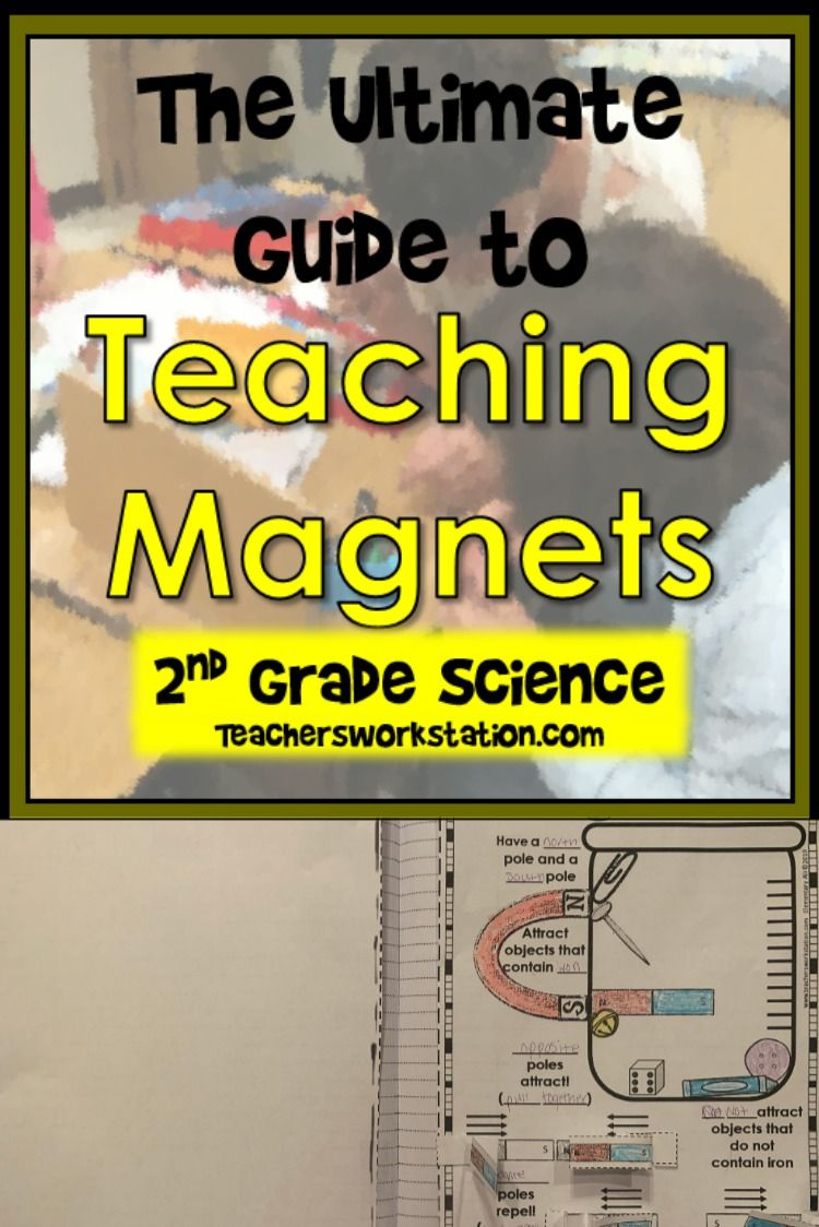 The Ultimate Guide to Teaching Magnets in 2nd Grade Science   Magnet  lessons [ 1124 x 750 Pixel ]