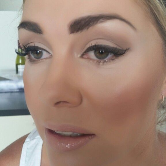 Bridal makeup by @Arthairdesignandbeauty