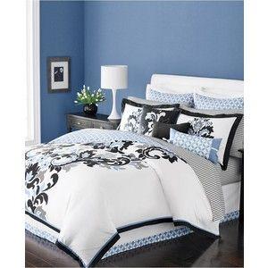 Martha Stewart Damask Flourish Duvet Girls Bedroom Ideas