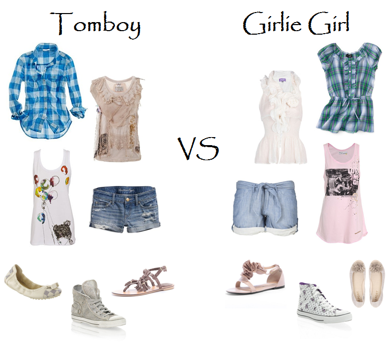 Tomboy Vs Girlie Girl What 39 S Your Style Fashion Pinterest Tomboy Girly Girls And