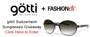 Enter to win Gotti Switzerland Sunglasses    Ends 08/31  #giveaway