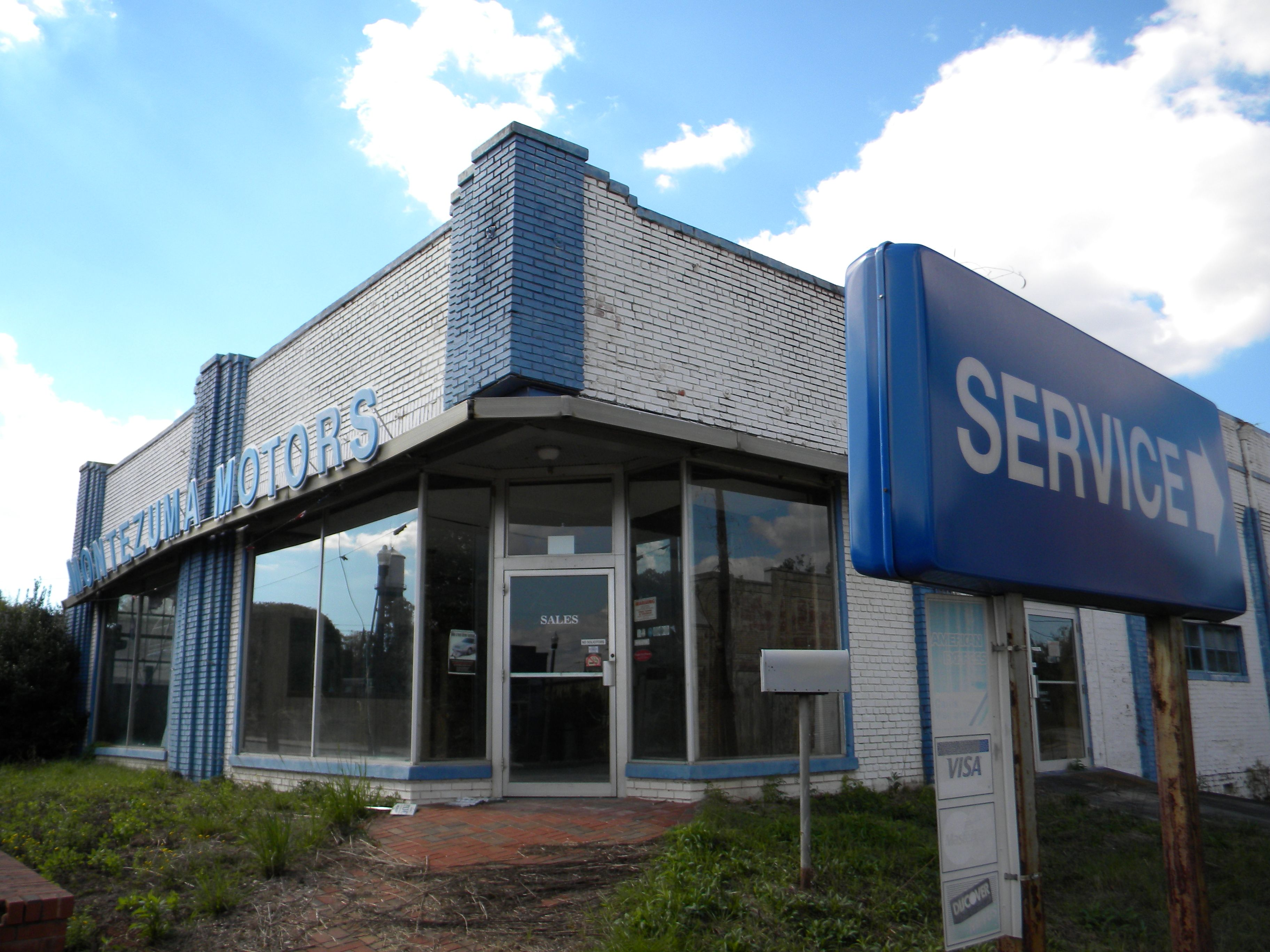 Ford Dealers In Ga >> Abandoned Ford Dealership Montezuma Ga My Photography