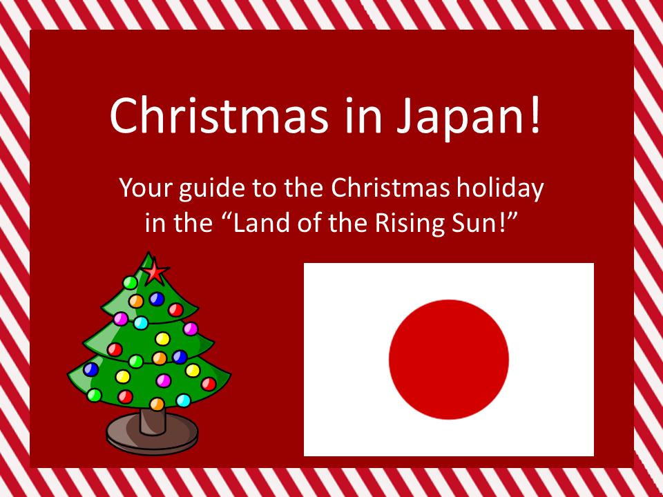 this product introduces christmas in japan and a few unique japanese christmas traditions