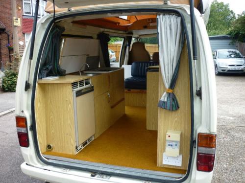 Custom Vw Bus Interior Toyota Hiace Interior Rear