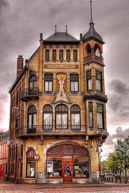 Art Nouveau Building, Netherlands