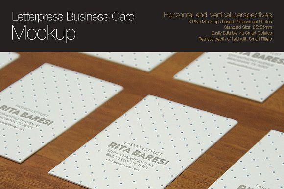 Letterpress business card mockup by spaziobianco on creativemarket letterpress business card mockup by spaziobianco on creativemarket reheart Gallery