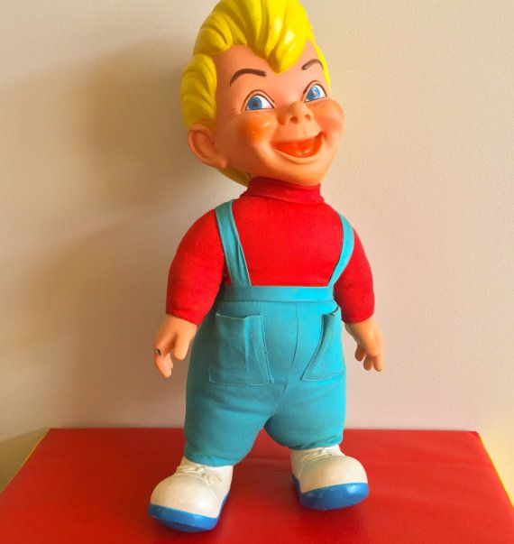 Vintage Mattel Beanie Doll 1960s by jollywolly on Etsy  5e1fcbe27049
