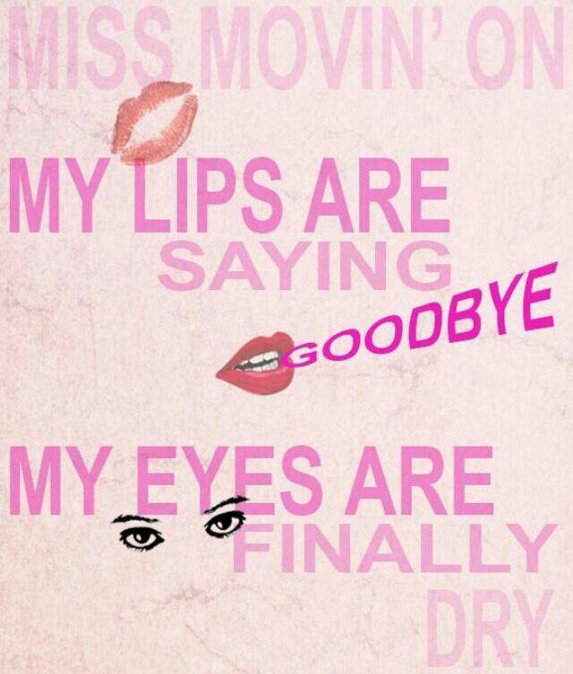 Miss Movin' On - Fifth Harmony. | lyrics. | Pinterest | Lyric ...