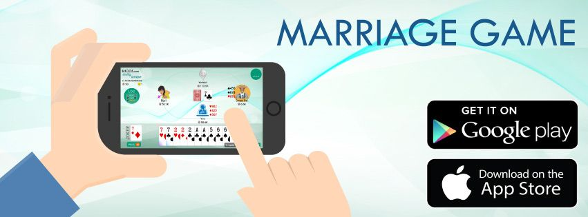 Play Marriage Cards Game On Your Mobile Marriage Games Marriage Cards Card Games