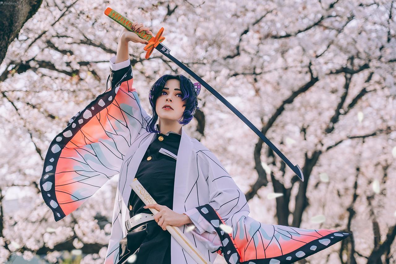 Demon slayer in 2020 cosplay epic cosplay cosplay anime