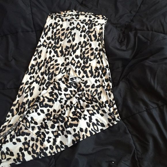 cheetah print maxi skirt cute, lightweight maxi skirt. great for spring and summer Skirts Maxi