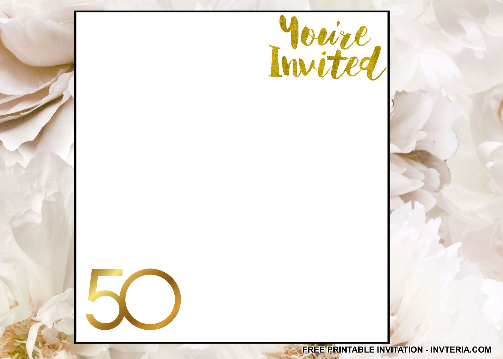 AWESOME FREE 50TH BIRTHDAY INVITATION SAYINGS IDEA