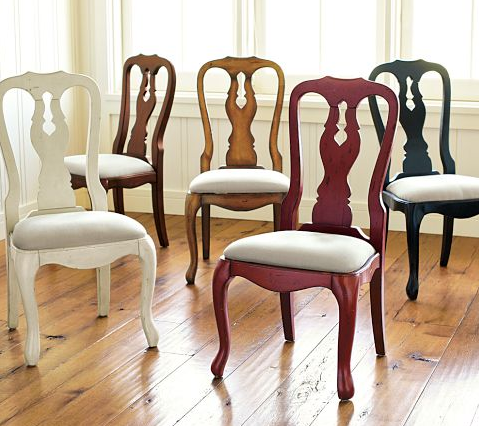 Mismatched Kitchen Chairs Upholstered Chairs Dining Room Chairs