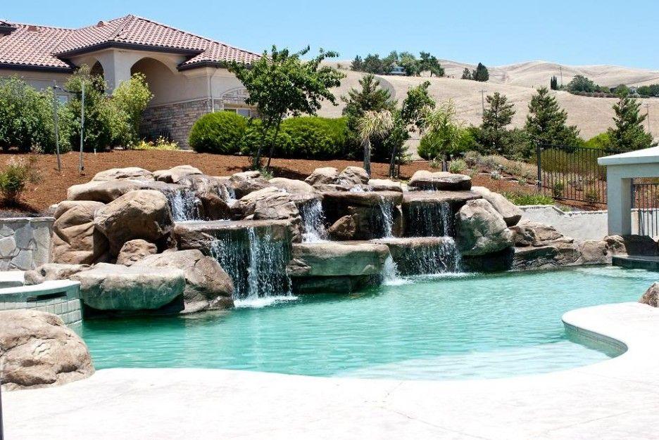 httpwwwireadocomthe best modern pool waterfallmodern