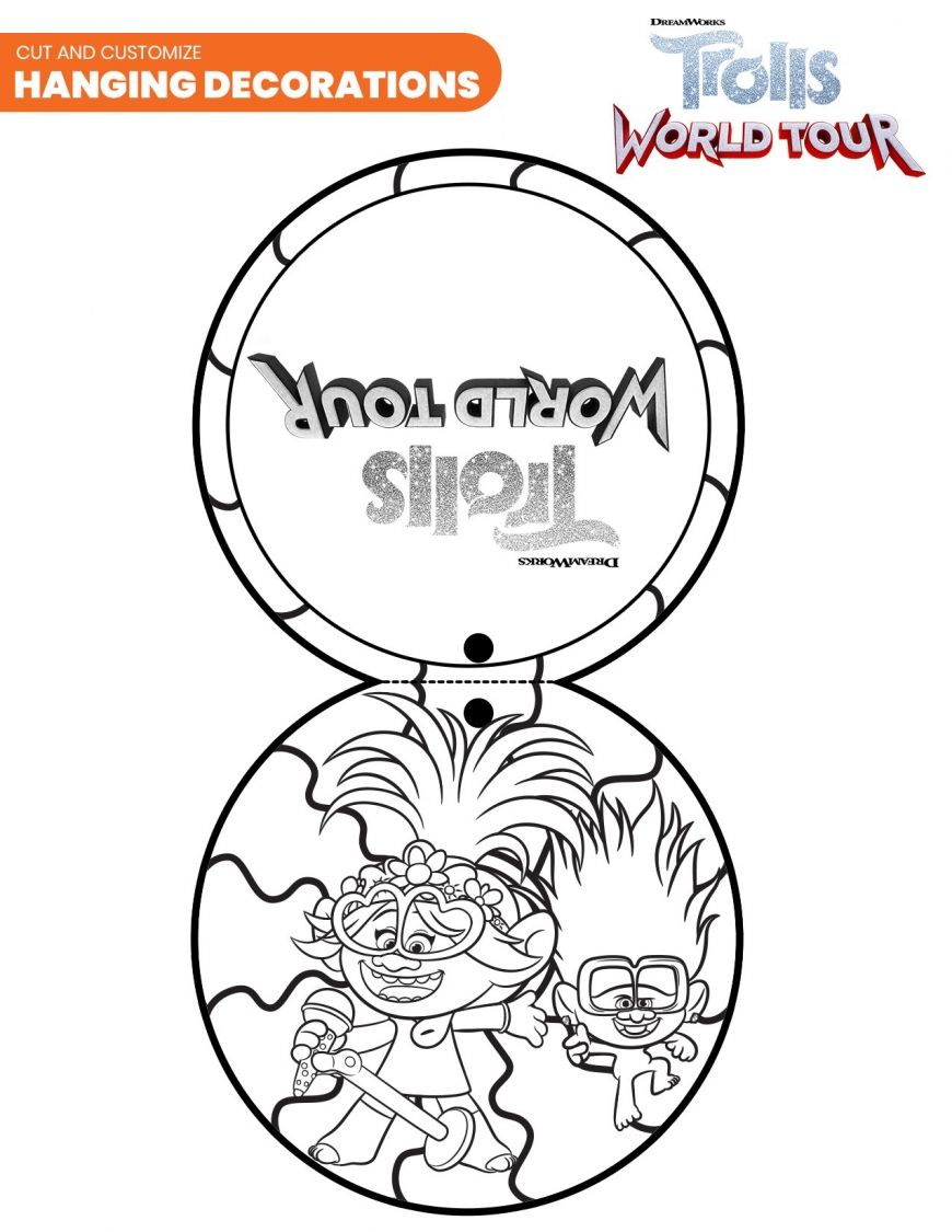 Trolls World Tour Coloring Sheets In 2020 Kids Printable Coloring Pages Coloring Pages For Kids Free Halloween Coloring Pages