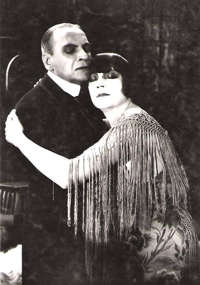 Asta Nielsen and Albert Basserman 1923 Cinema, Silent