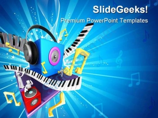Musical World Symbol Powerpoint Templates And Powerpoint Backgrounds
