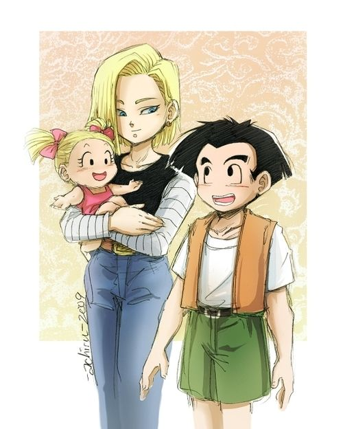 Krillin with family - Bing Images