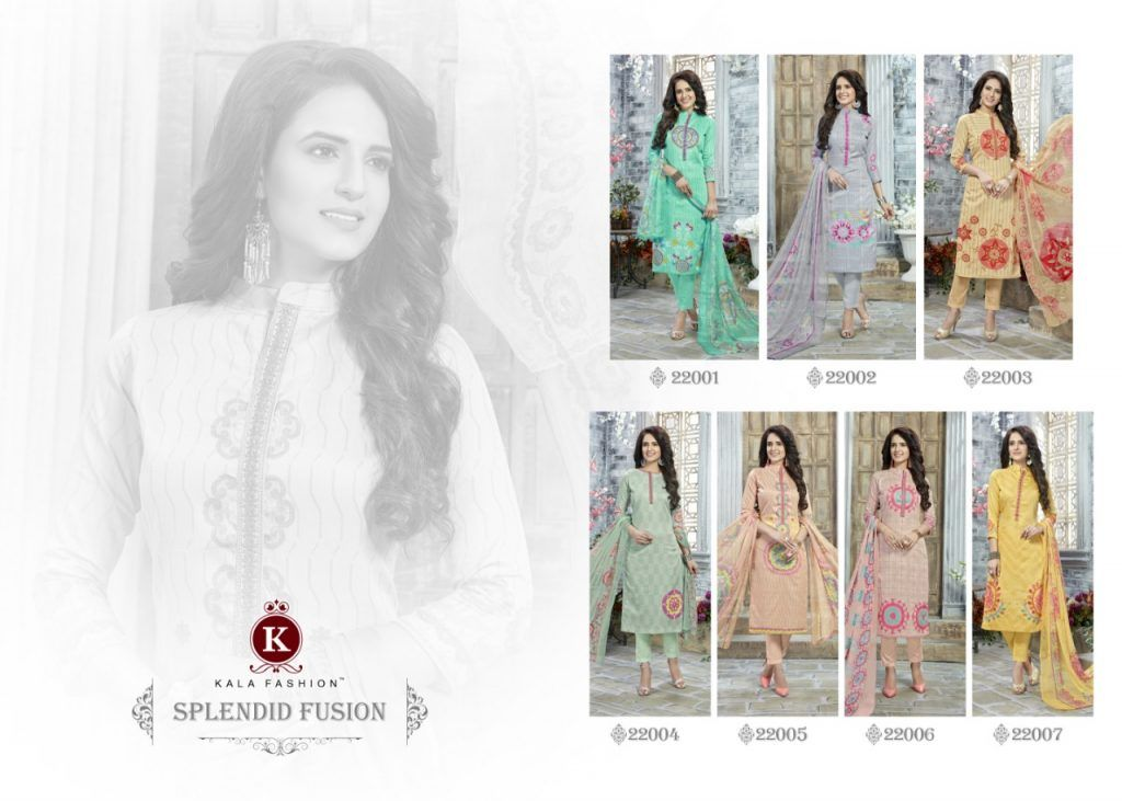 5f409ac11b Krishna Creation » kala fashion presents dhadak vol 2 cotton suits wholesale  market in surat