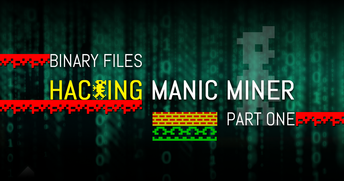 Hackingmm_part1i Manic miner, Game engine, Games