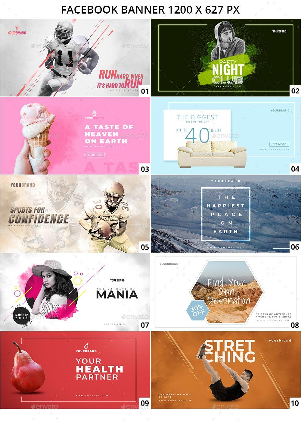 100 Facebook Multipurpose Banners Facebook Ads Design Web Banner Design Multipurpose Banner