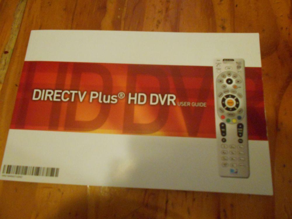 DIRECTV Plus HD DVR User Guide HR21MAN071029 User guide