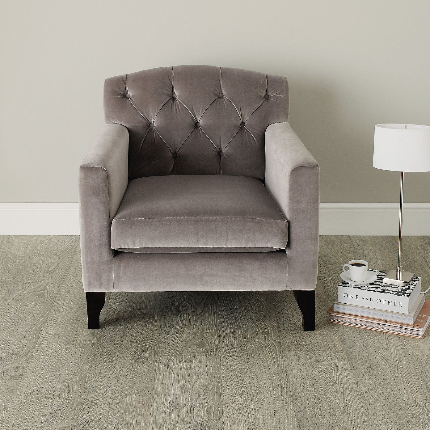 Buy Furniture Sofas & Chairs Eaton Armchair from The White
