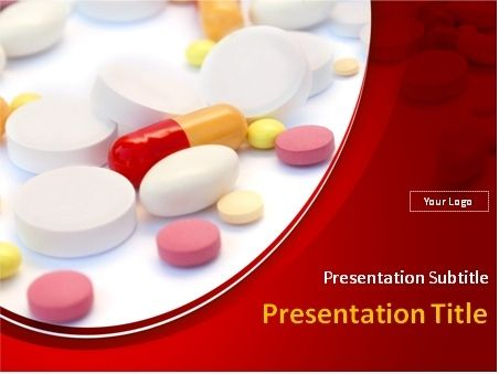 Medical pills tablets and capsules over white and red background this powerpoint template will fit presentations on medicine pharmacology pharmacies pills drugs scientific and medical research health healthcare maxwellsz