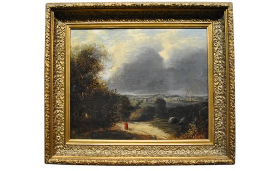 Gorgeous, well done, original 18th Century oil on canvas. Art 14 x ...