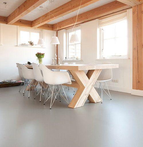 pvc vloer betonlook - Google zoeken | Interieur ideeën | Pinterest ...