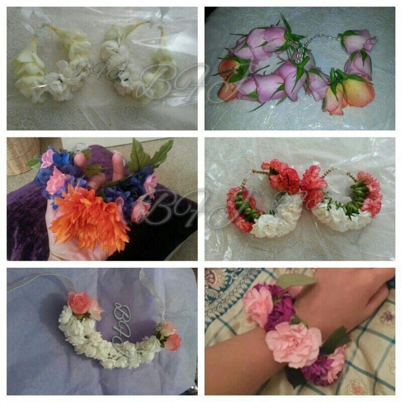 Fresh bridal flower jewellery bangles by Bridal Flower Jewellery fresh and artificial bangles