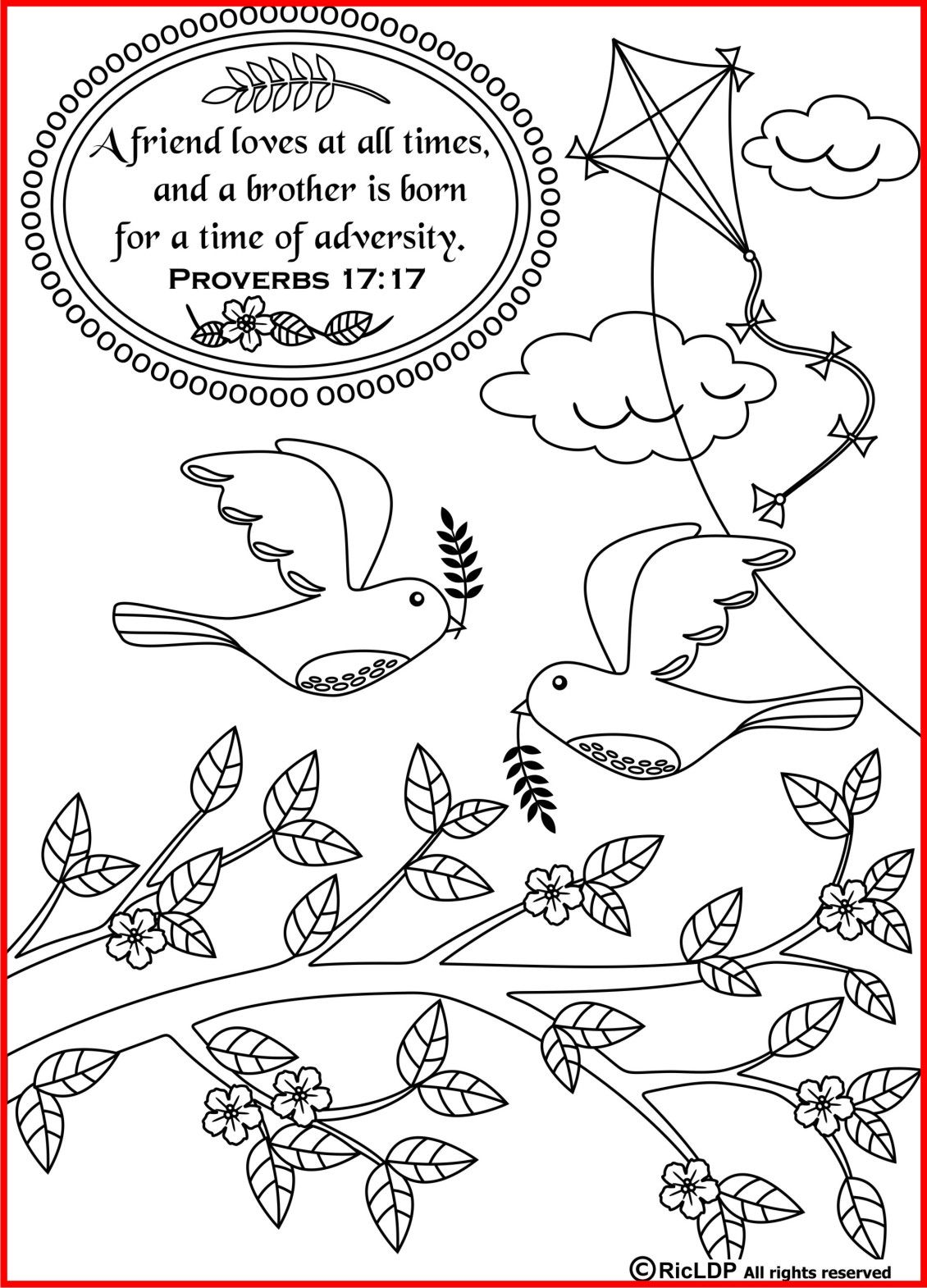 15 Printable Bible Verse Coloring Pages | Pinterest | Pdf, Filing ...