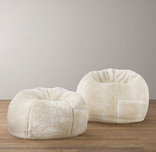 Superbe Luxe Faux Fur Bean Bag | Bean Bags | Restoration Hardware Baby U0026 Child