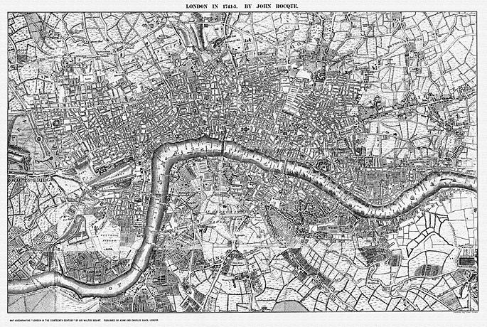 old map of london want for my apartment