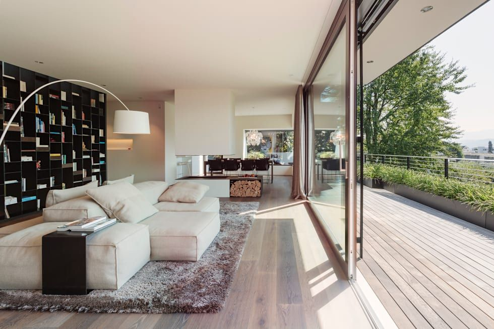 Objekt 336 moderne Wohnzimmer von meier architekten Home Decor - bilder für wohnzimmer