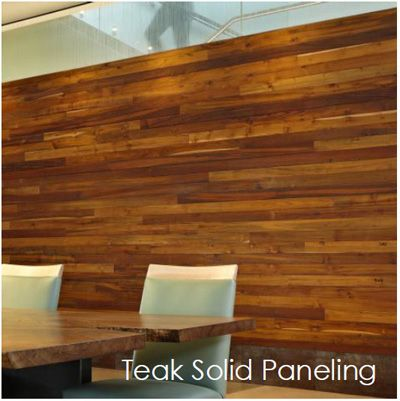 Reclaimed Teak Special Offer Paneling Teak Wood Floors