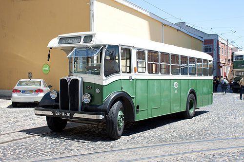 Carris AEC museum bus, Lisbon, Portugal