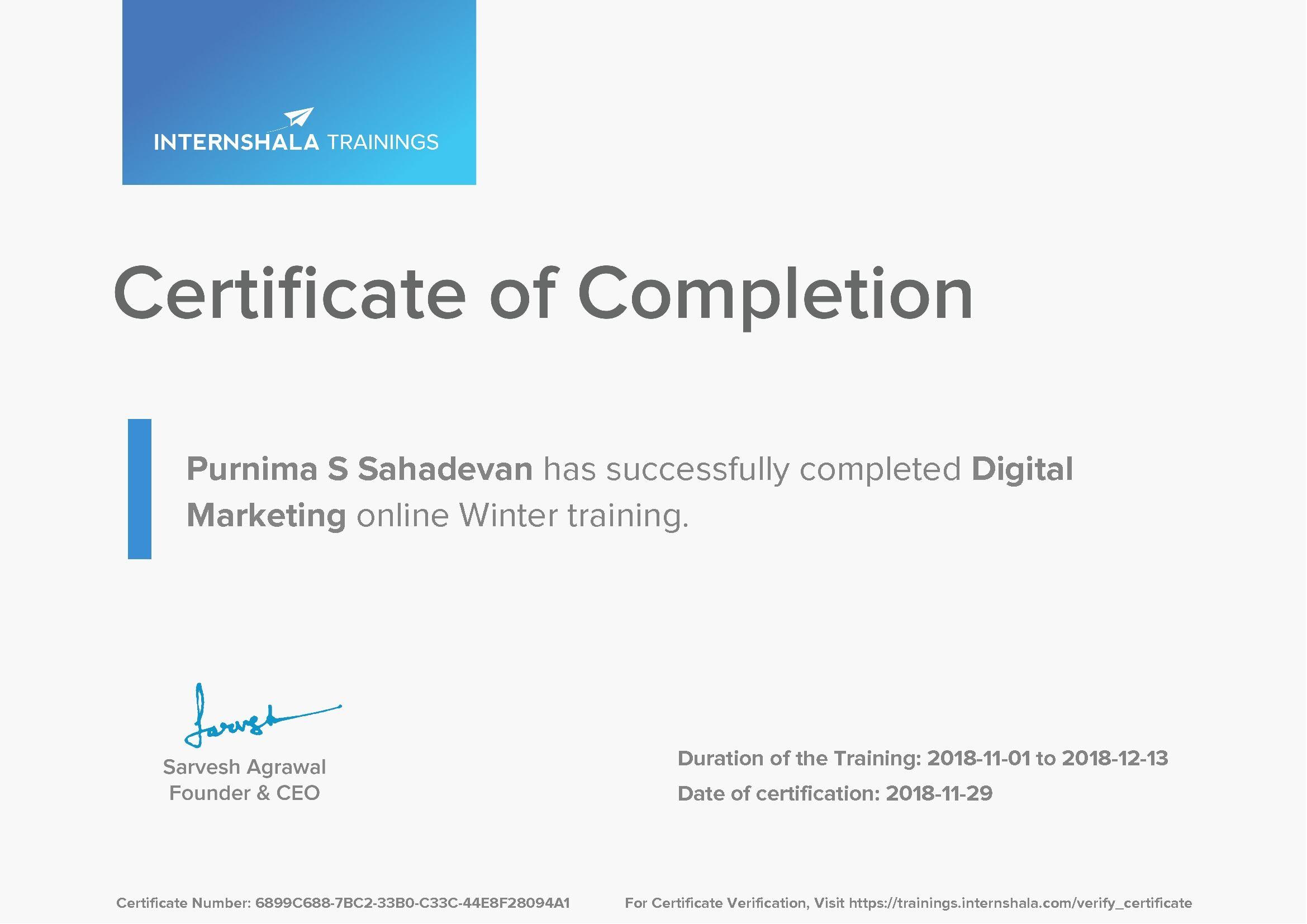 Pin By Purnima Sahadevan On Job Postings November 2018 Job Posting Certificate Of Completion