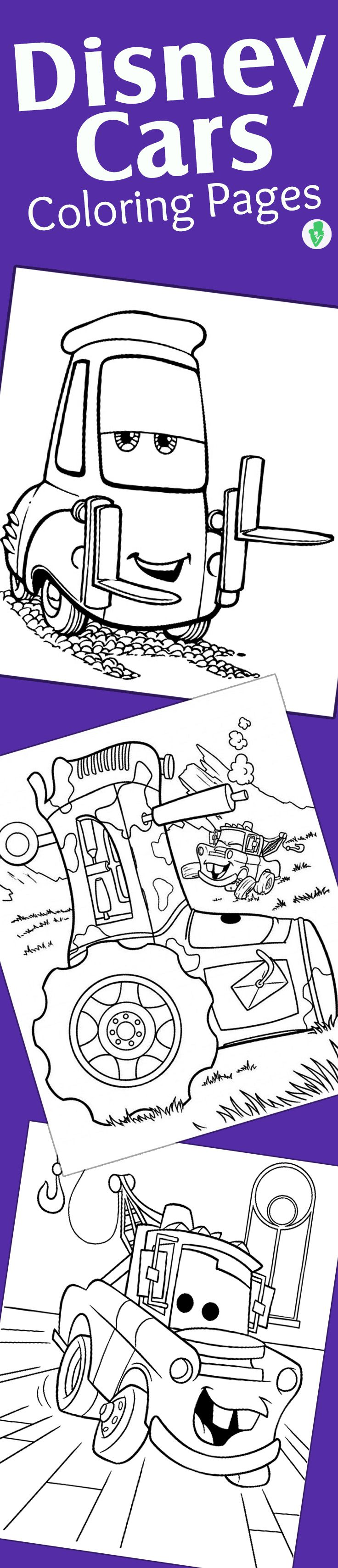 Top free printable disney cars coloring pages online