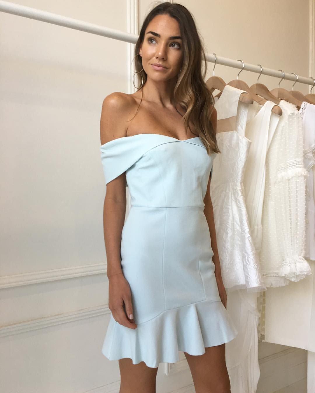 63142c96e7ff The Rebecca Vallance mini hamptons dress in azure available in stores and  online now with Afterpay & ZipPay ⭐ Web link in bio #cocoandlola