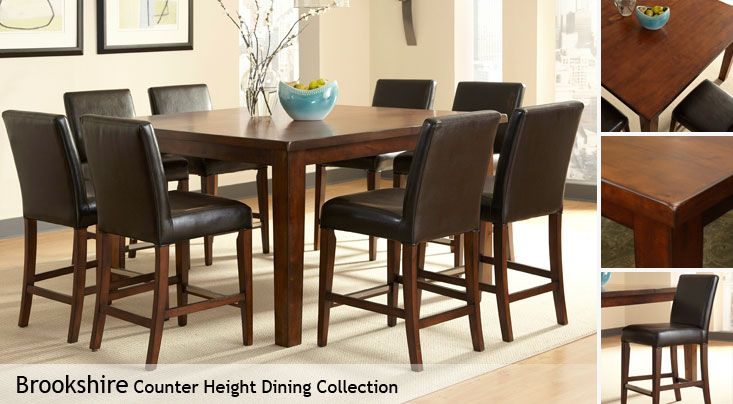 Dining Room Table Costco Brookshire Counter Height