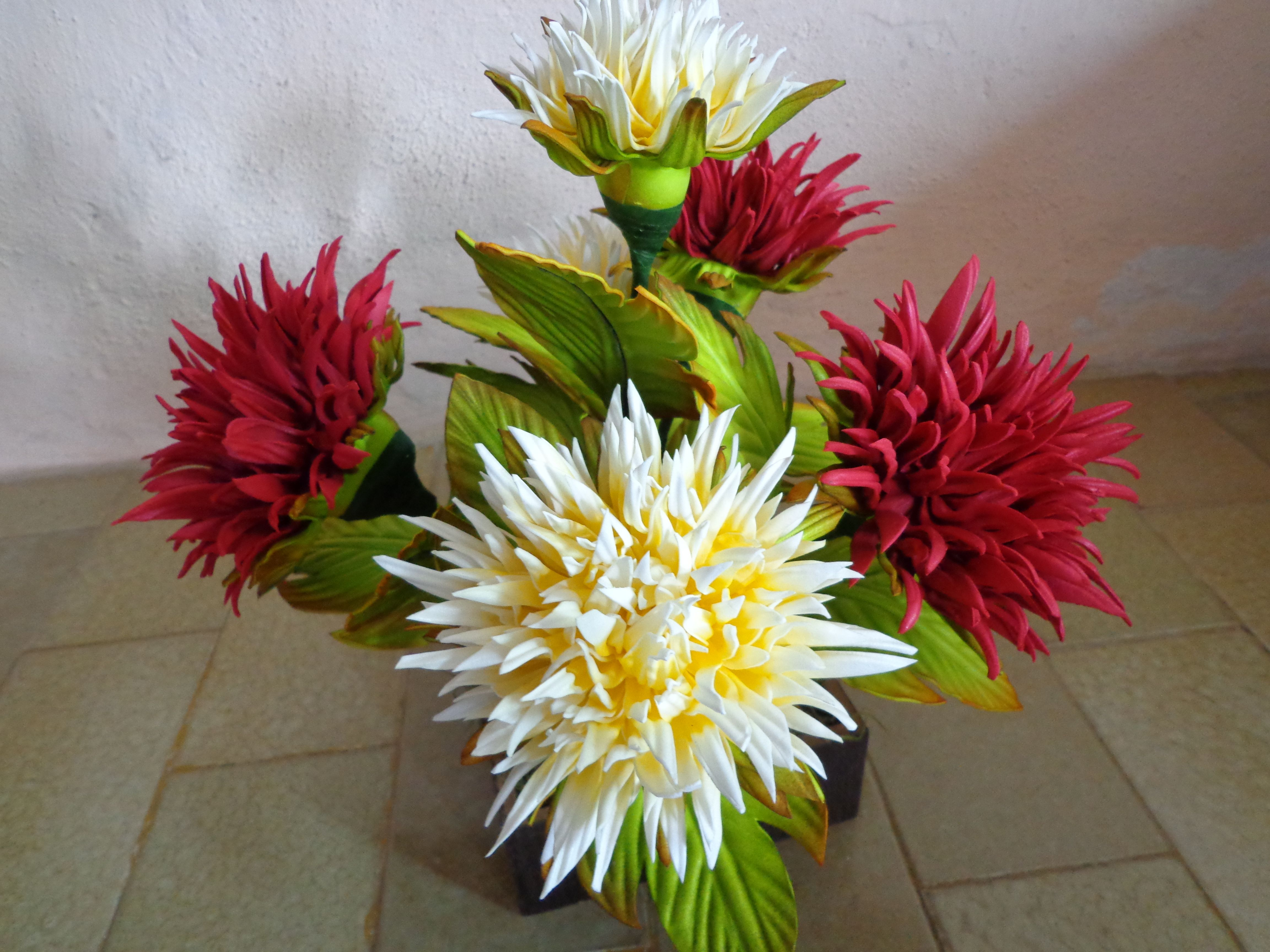 Arranjo De Crisantemo Em Eva Arranjos De Flores Flores Em Eva