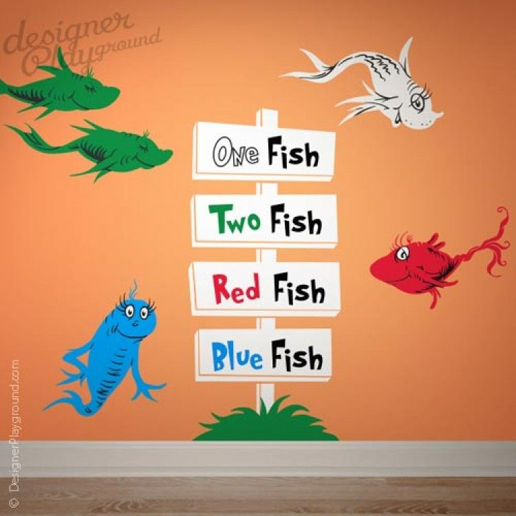 Dr seuss inspired room for children turn your nursery room or playroom into a dr create your own seussville with this amazing wall decals