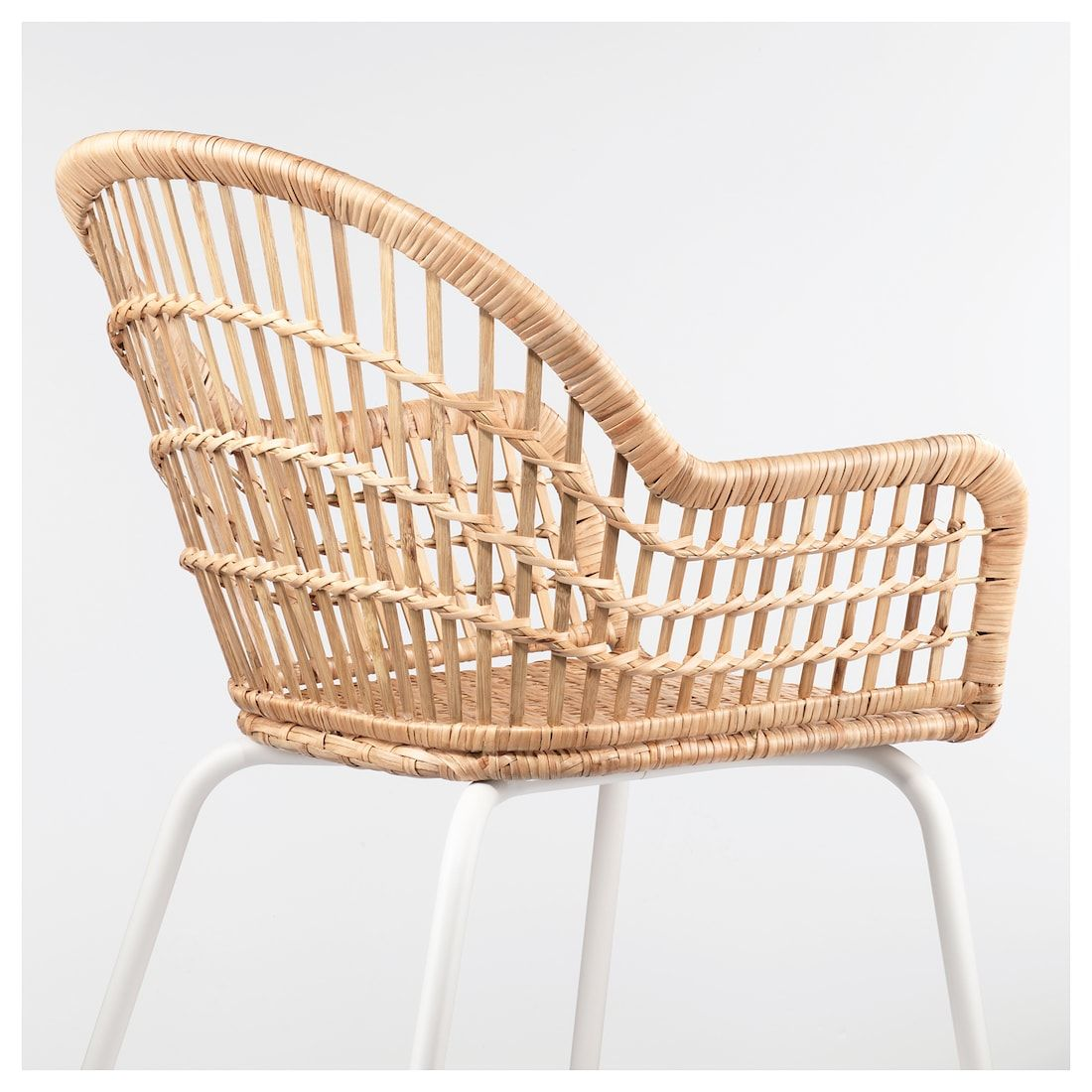 We rent white wicker bridal chairs! Plastic chair