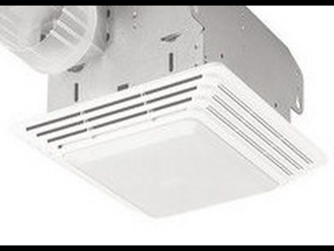 Broan Model 678 Bathroom Light Exhaust Fan Cleaning Light