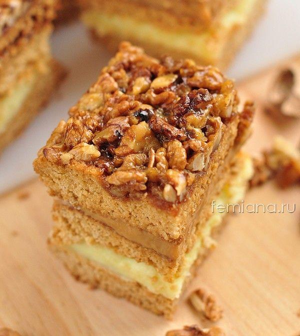 Торт из коржей со сгущенкой - пошаговый рецепт с фото на Повар.ру | 673x600