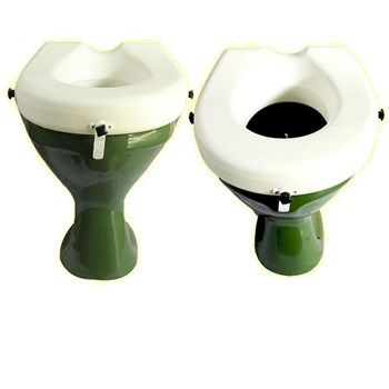 Toilet Seat Risers With Clamp 8 Cm Pedder Johnson Toilet Seat