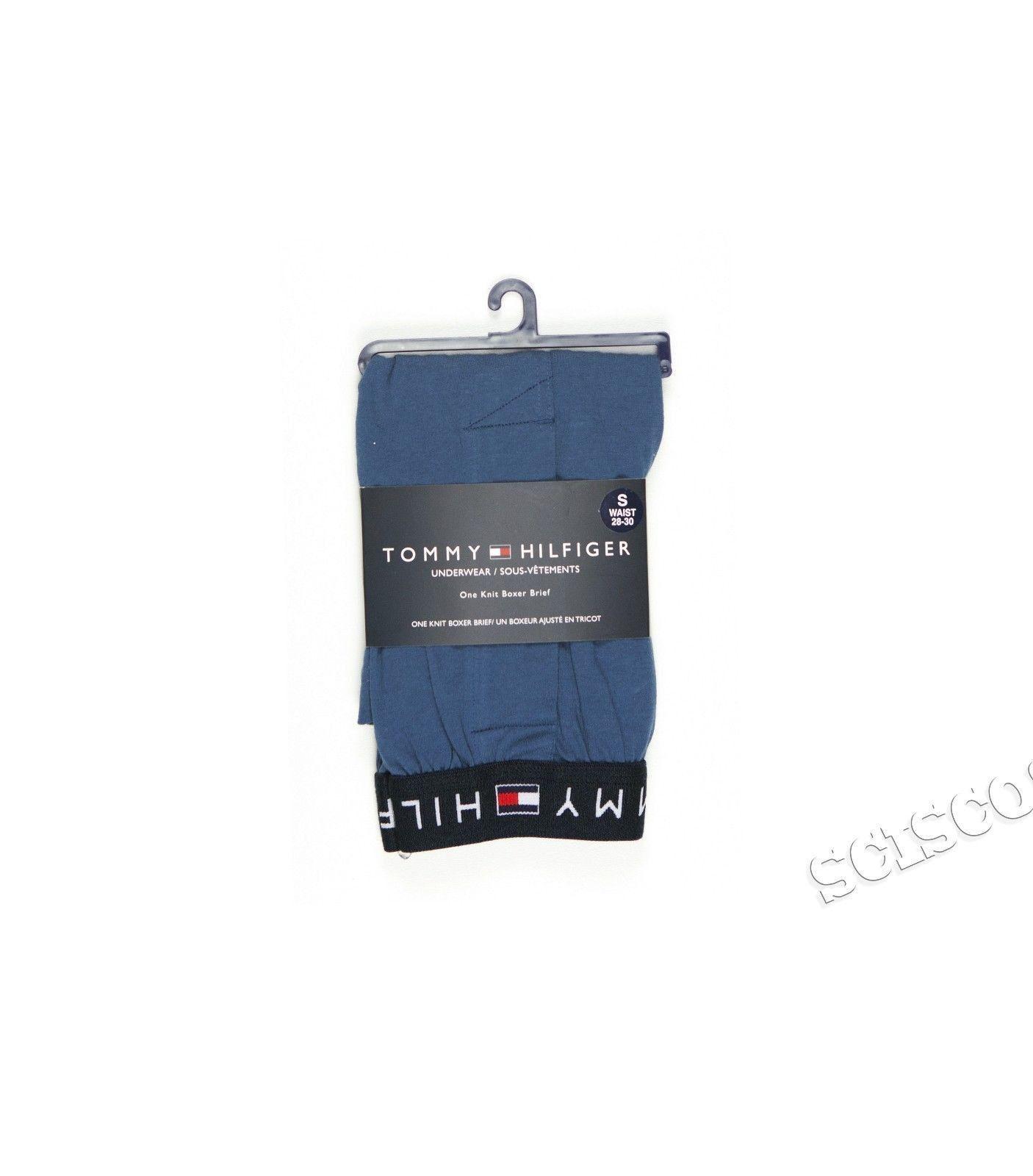 Tommy Hilfiger Underwear Mid Thigh Brief fly front Blue